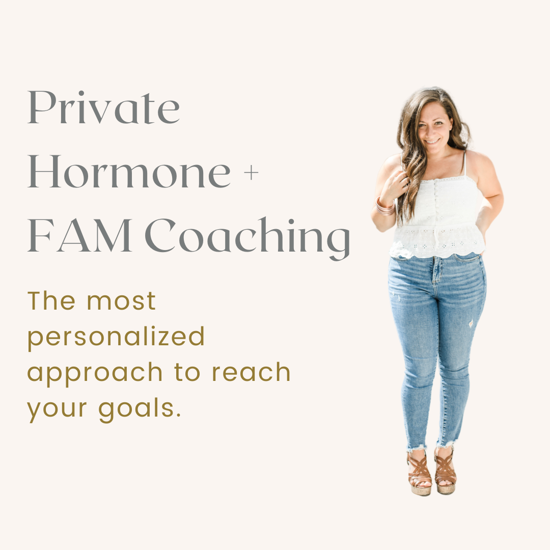 Private Hormone and Fertility Awareness Method Coaching