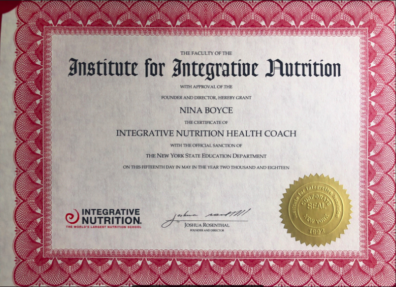 Health Coach Certification